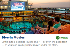 Dive In Movies Carnival Cruises